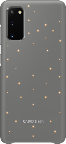 Samsung Galaxy S20 Led Back Cover Grijs Main Image