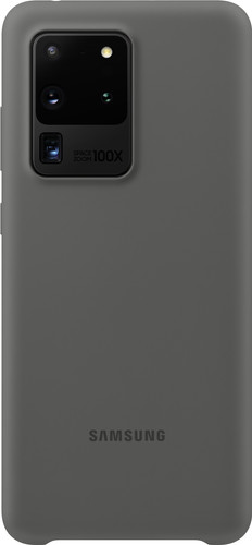 Samsung Galaxy S20 Ultra Silicone Back Cover Gray Main Image