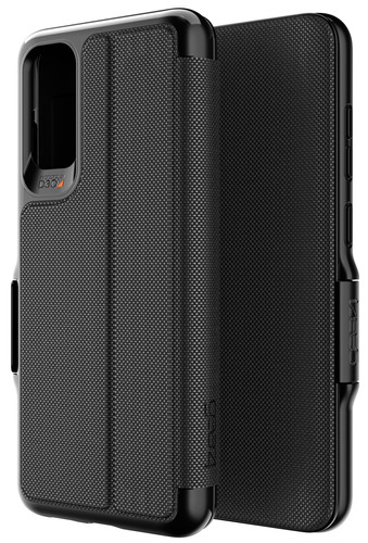 GEAR4 Oxford Eco Samsung Galaxy S20 Book Case Black Main Image