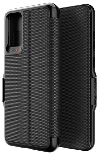GEAR4 Oxford Eco Samsung Galaxy S20 Plus Book Case Zwart Main Image