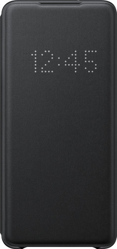 Samsung Galaxy S20 Plus Led View Book Case Zwart Main Image