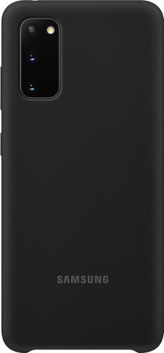 Samsung Galaxy S20 Silicone Back Cover Black Main Image