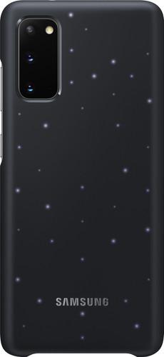 Samsung Galaxy S20 Led Back Cover Zwart Main Image