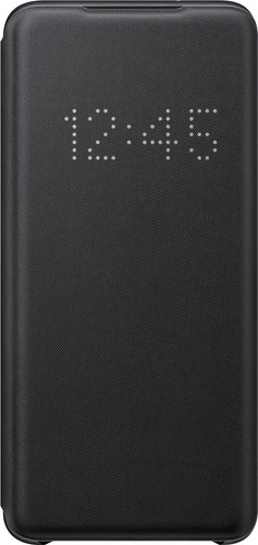 Samsung Galaxy S20 LED View Book Case Black Main Image