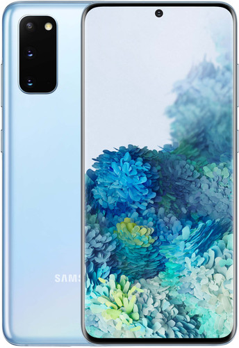 Samsung Galaxy S20 128GB Blauw 4G Main Image