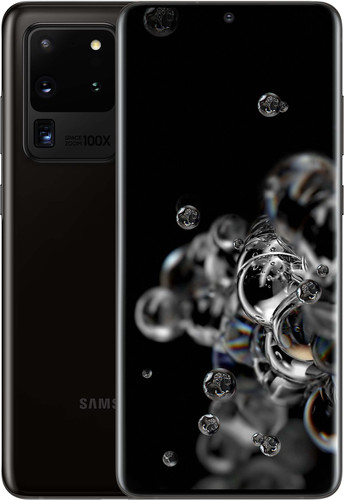 Samsung Galaxy S20 Ultra 128GB Zwart 5G Main Image