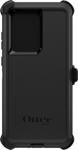 OtterBox Defender Samsung Galaxy S20 Ultra Back Cover Black Main Image