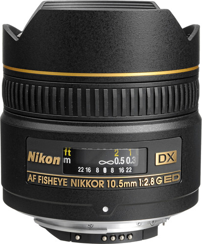 Nikon AF-D 10.5mm f/2.8G ED DX Fisheye Main Image