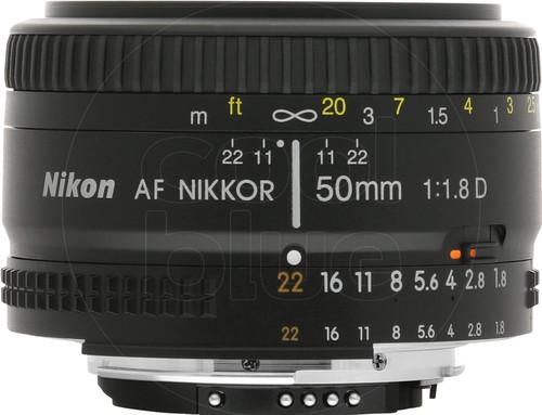 Nikon AF-D 50mm f/1.8 Main Image