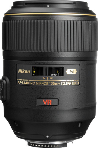 Nikon AF-S 105mm f/2.8G ED IF VR Micro Main Image