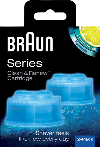 Braun Clean & Renew Cleaning Solution cartridges (2 units) Main Image