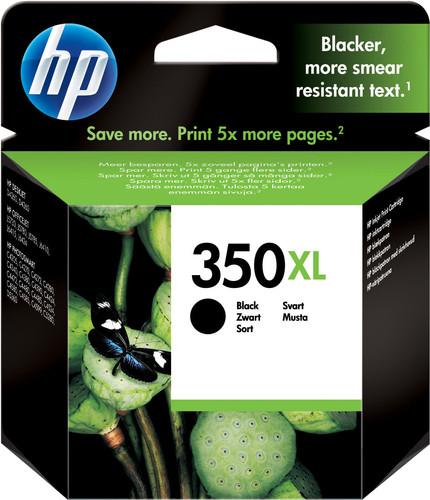 HP 350XL Cartridge Black Main Image