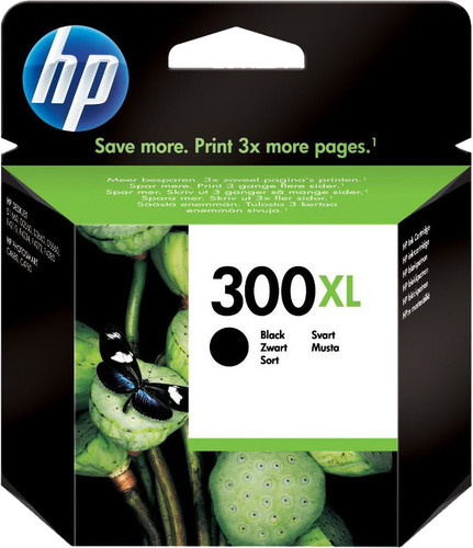 HP 300XL Cartridge Black Main Image