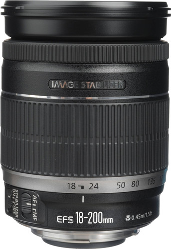 Canon EF-S 18-200mm f/3.5-5.6 IS Main Image