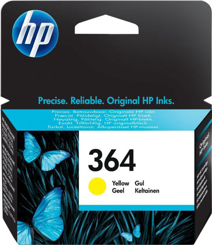 HP 364 Cartridge Yellow (CB320EE) Main Image