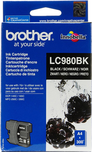 Brother LC-980 Cartridge Zwart Main Image
