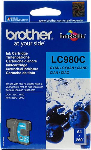 Brother LC-980 Cartridge Cyan Main Image