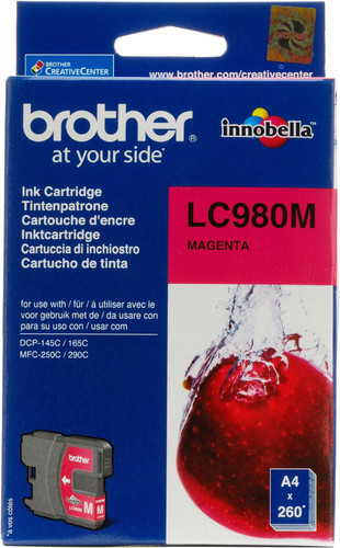 Brother LC-980 Cartridge Magenta Main Image