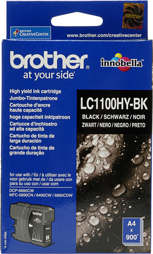 Brother LC-1100HYXL Cartridge Black Main Image