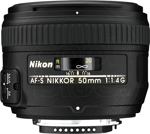 Nikon AF-S 50mm f/1.4G Main Image