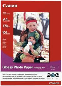 Canon GP-501 Glossy Photo Paper 100 sheets A4 Main Image