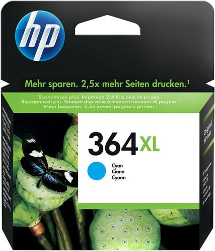 HP 364XL Cartridge Cyan Main Image