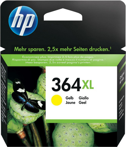 HP 364XL Cartridge Yellow Main Image