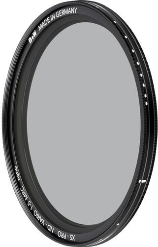 B+W Vario ND Nano XS-Pro 62mm MRC Main Image