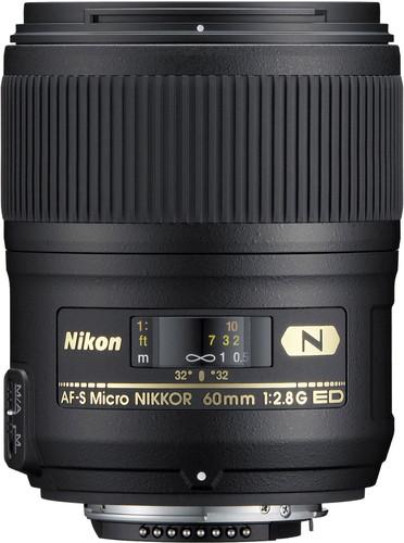 Nikon AF-S 60mm f/2.8G ED Micro Main Image
