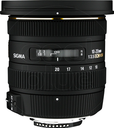 Sigma F 10-20mm f/3.5 EX DC HSM Nikon Main Image