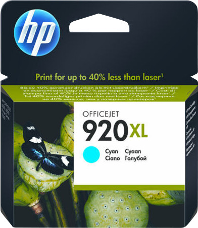 HP 920XL Cartridge Cyan Main Image