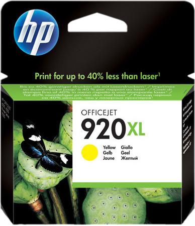 HP 920XL Cartridge Yellow Main Image
