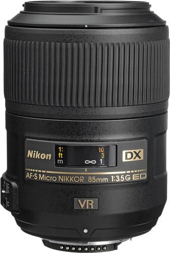 Nikon AF-S 85mm f/3.5G ED VR DX Micro Main Image
