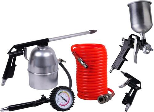 Ferm Compressor Air tool set (5-piece) Main Image