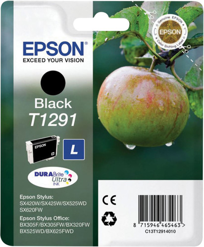 Epson T1291 Cartridge Black Main Image