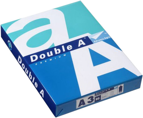 Double A Paper A3-papier Wit 80g/m2 500 Vellen (5x) Main Image