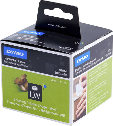DYMO Name Labels White (54x101mm) 1 Roll Main Image