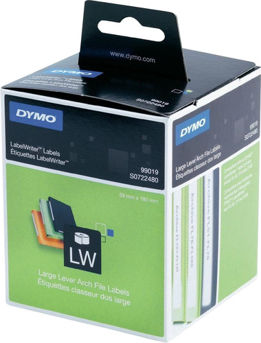 Dymo Ring binder labels White (59 x 190 mm) 1 Roll Main Image