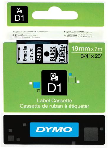 Dymo D1 Name Labels Black-White (24mm x 7 m) Main Image
