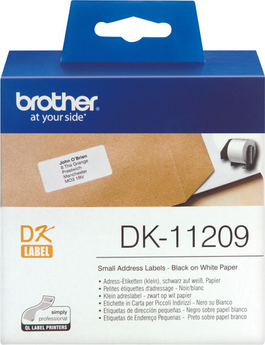 Brother DK-11209 Labels (29x62mm) 1 Roll Main Image