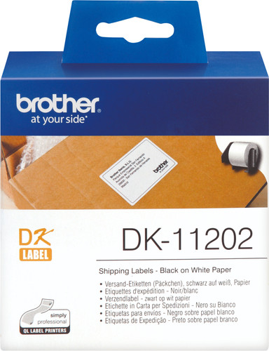 Brother DK-11202 Labels (62 x 100 mm) 1 Rol Main Image