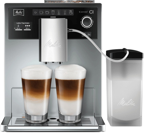 Melitta Caffeo CI Silver with milk container Main Image