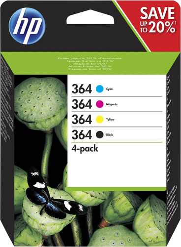HP 364 Cartridges Combo Pack Main Image