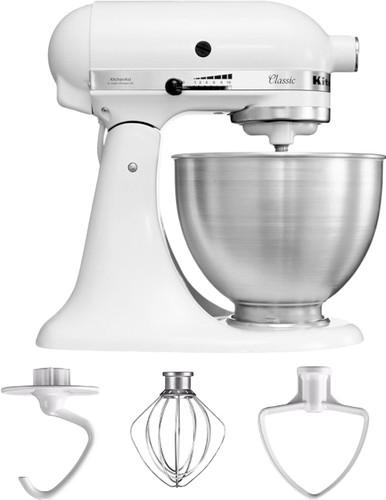 KitchenAid Classic Mixer 5K45SSEWH White Main Image