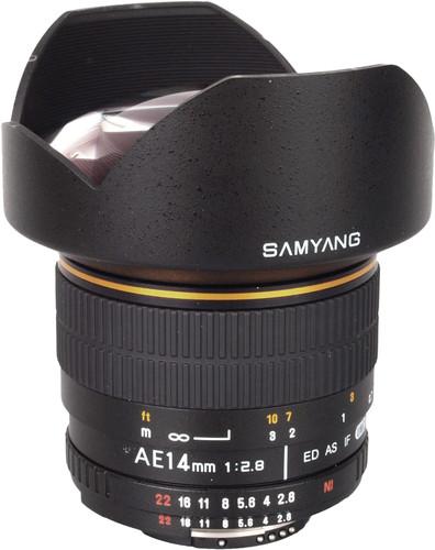 Samyang 14mm f/2.8 Aspherical IF ED UMC Nikon Main Image