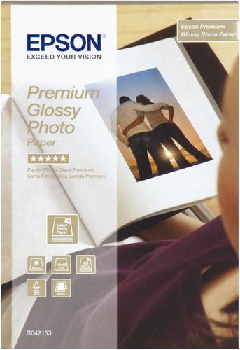 Epson Premium Glossy Photo Paper 10 x 15 (40 Sheets) Main Image