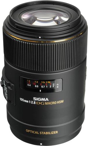 Sigma F 105mm f/2.8 EX DG Macro OS HSM Nikon Main Image