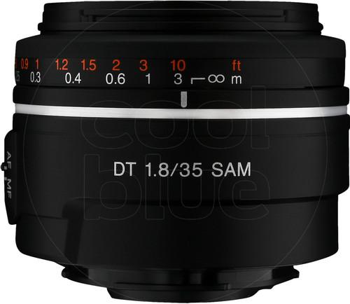 Sony SAL 35mm f/1.8 DT SAM Main Image