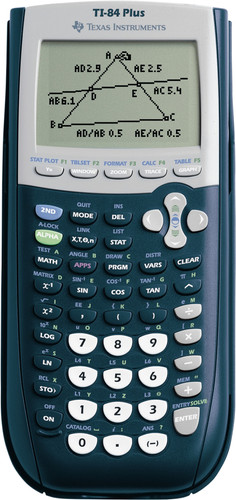 Texas Instruments TI-84 Plus Main Image