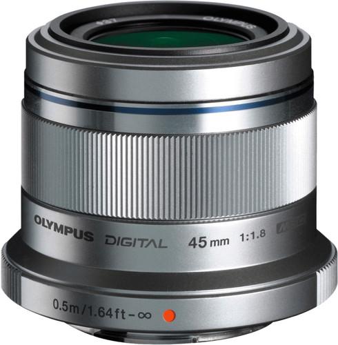 Olympus M.Zuiko Digital 45mm f/1.8 Zilver Main Image